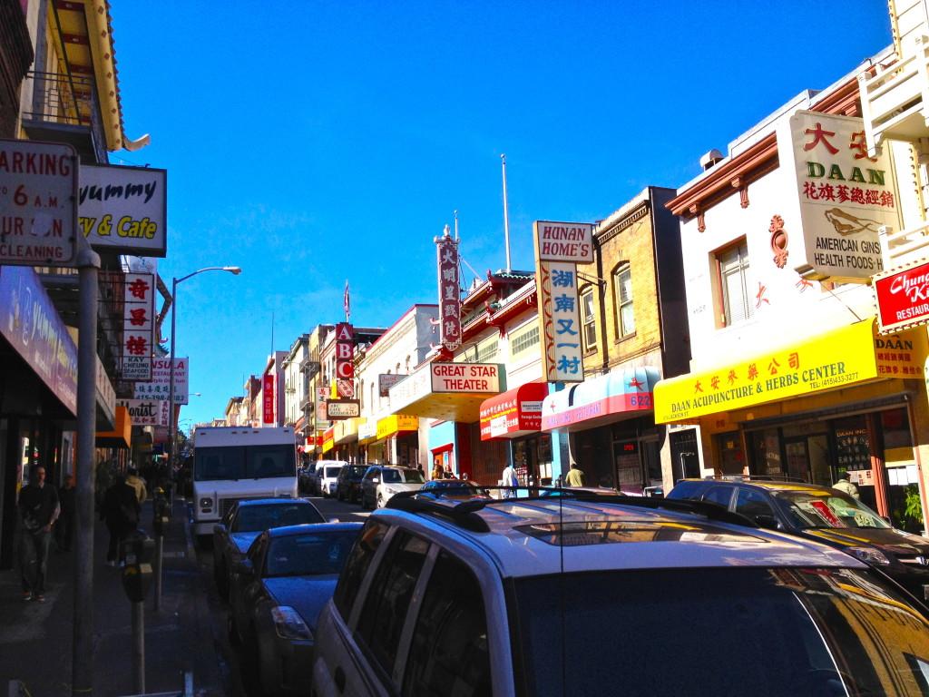 10min walk to Chinatown
